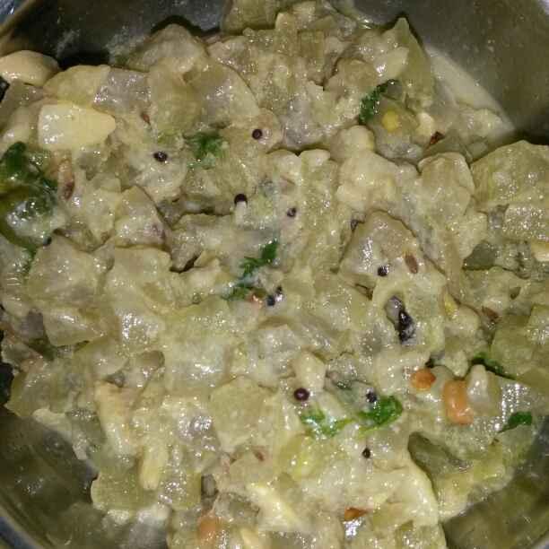 Photo of Sorakaya paalu curry by Ram Ram at BetterButter