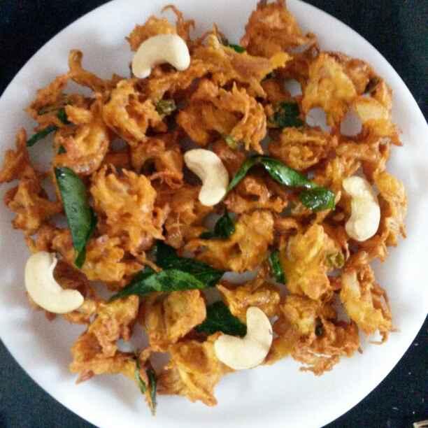 Photo of Kaju onion pakodi by Ram Ram at BetterButter