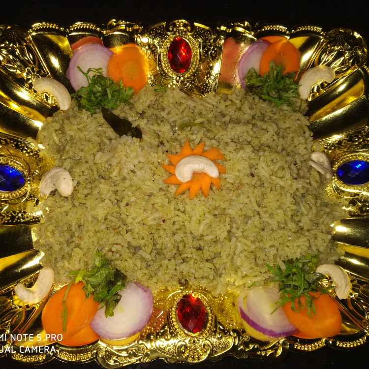 Photo of Leafy vegetables biryani by Ram Ram at BetterButter