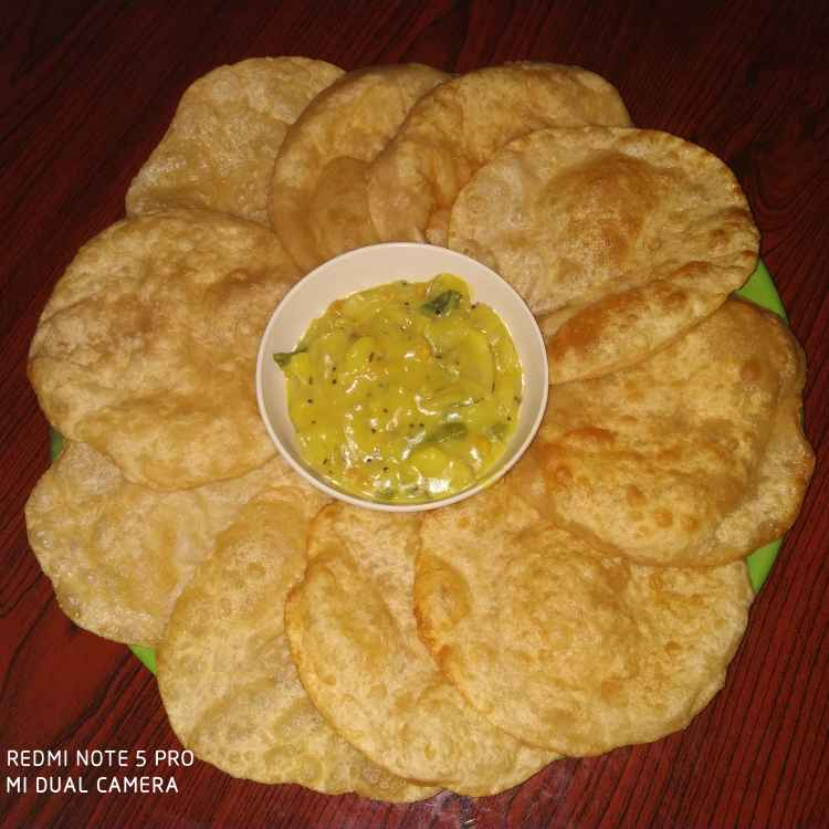 How to make పూరి