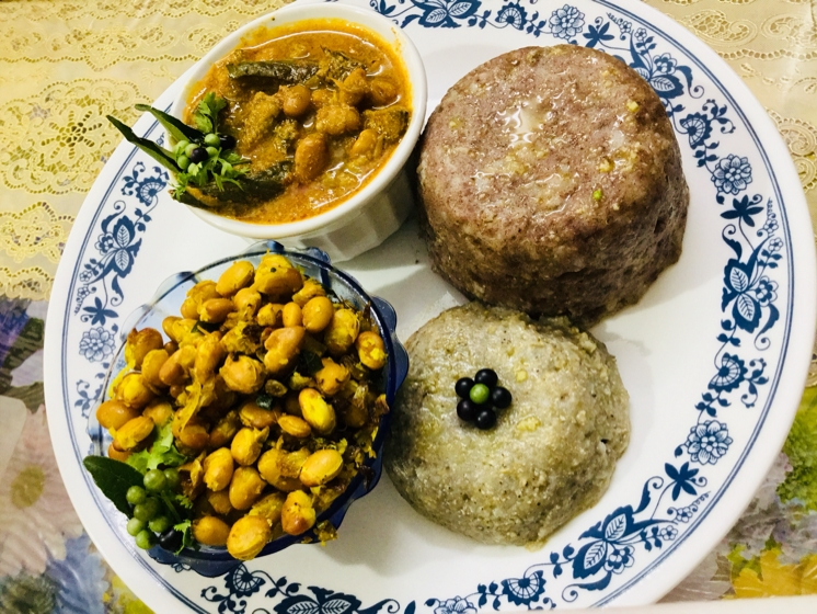 Photo of PEARL MILLET AND FINGER MILLET PUDDING WITH VAL BEANS GRAVY ! by Ramani Thiagarajan at BetterButter