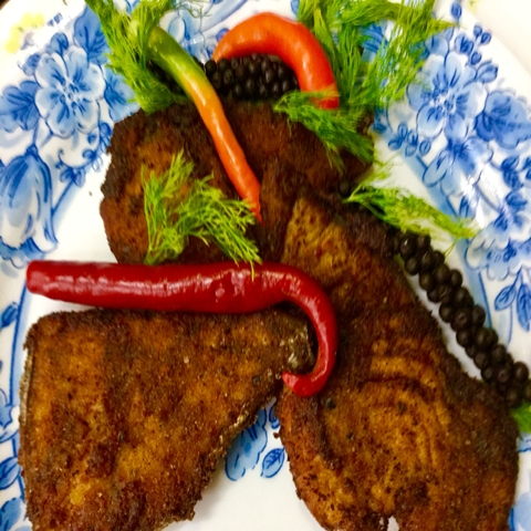 How to make VANJARAM FISH FRY FOR LUNCH BOX !