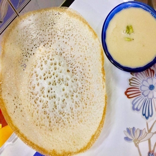 How to make APPAM WITH JAGGERY COCONUT MILK !