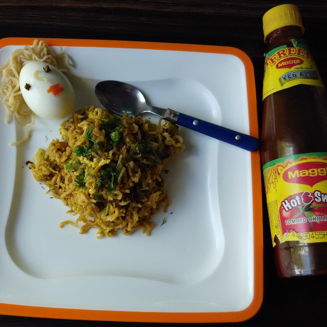 Photo of Healthy Egg Maggi Noodle by Rameshwari Bansod at BetterButter