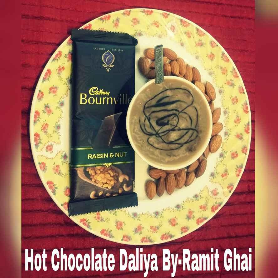 How to make Hot Chocolate Daliya
