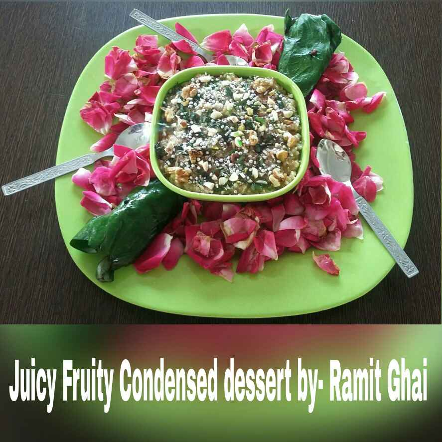Photo of Juicy fruity condensed dessert by Ramit Ghai at BetterButter