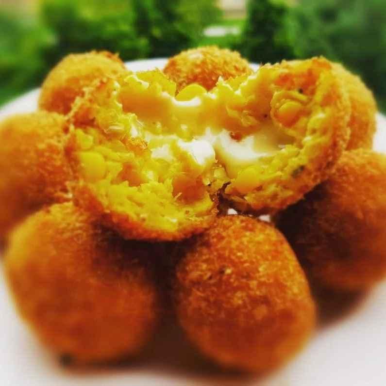 Photo of Corn Cheese Balls by Ramya Sambandam at BetterButter