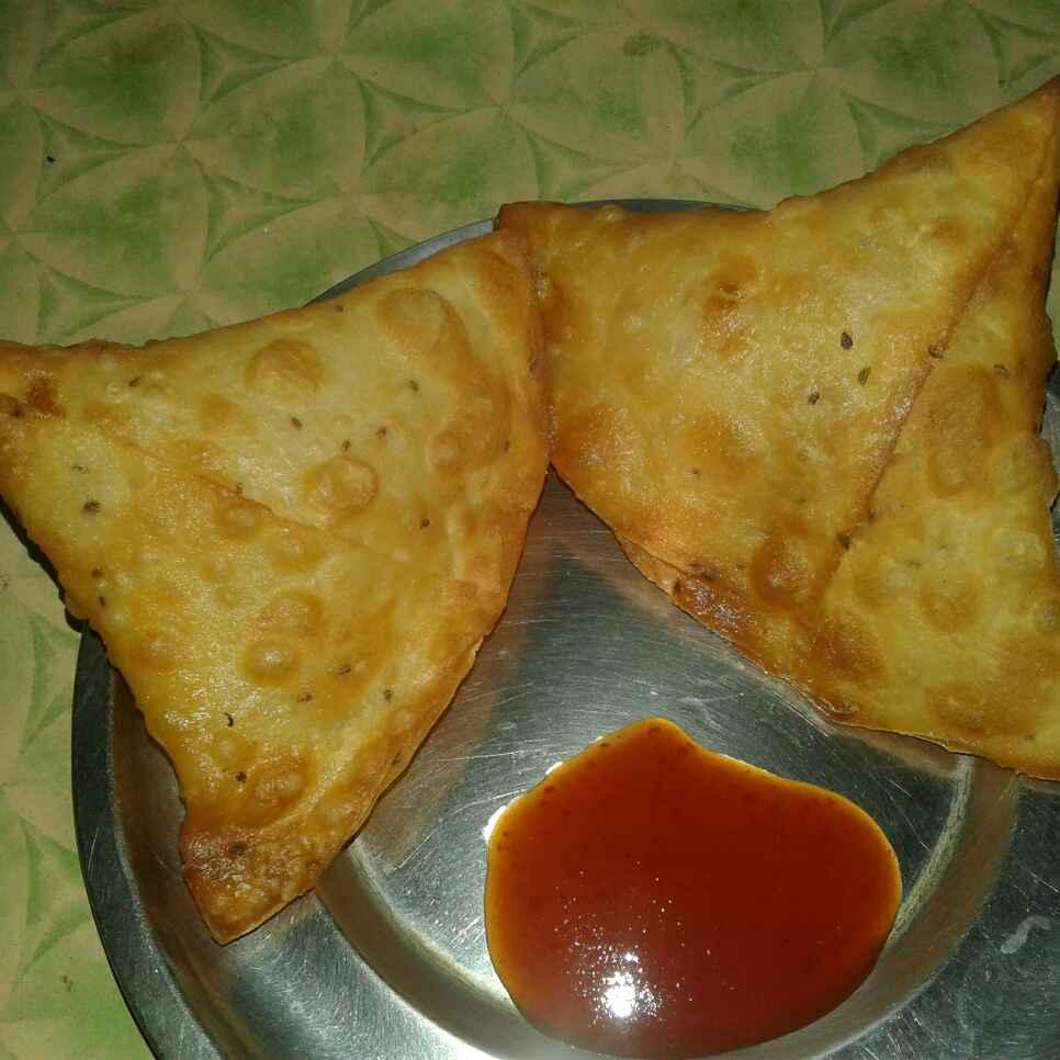 Photo of Onion samosa by Ramya Santhakumar at BetterButter