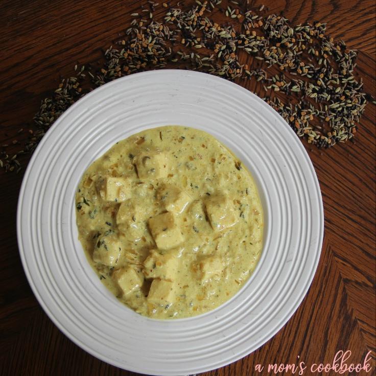 How to make Dahiwale Paneer   Paneer in Spicy Yogurt gravy