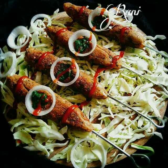 How to make Aloo seek kebab