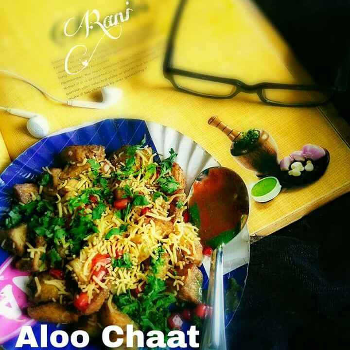How to make Fry Aloo chaat