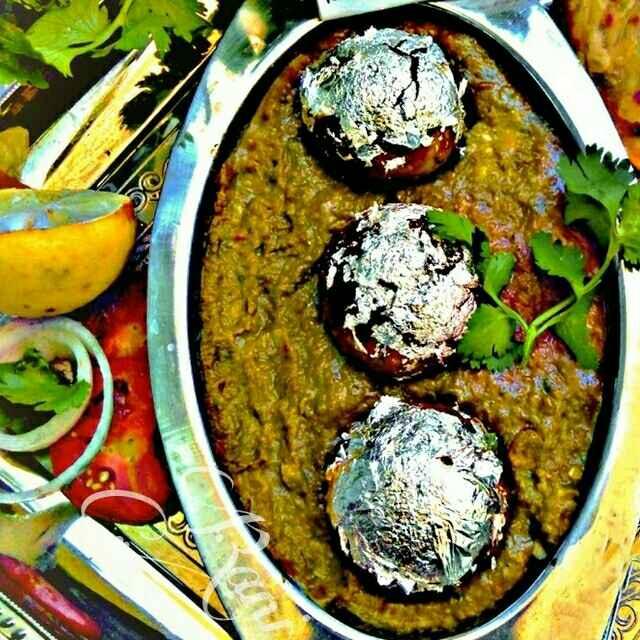 Photo of Malai kofta palak gravy ke sath by Rani Soni at BetterButter