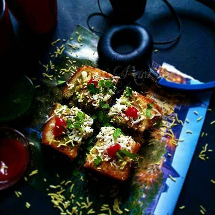 Photo of Mumbai Masala toast Sandwich by Rani Soni at BetterButter