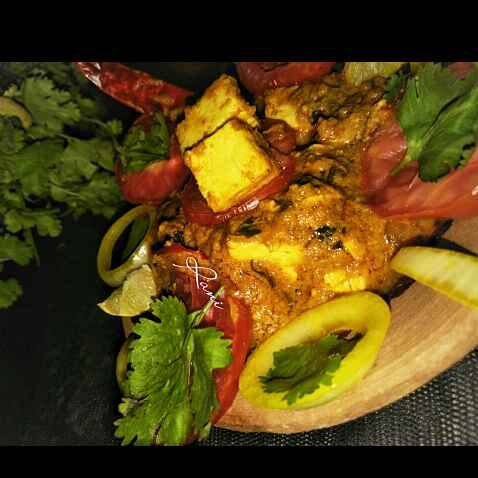 How to make Dhaba Style Handi Paneer