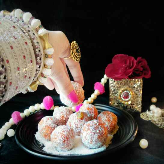 Photo of Carrot coconut ladoo by Rani Soni at BetterButter