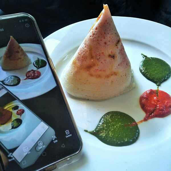 Photo of Schezwan Cone Rava dosa by Rani Soni at BetterButter