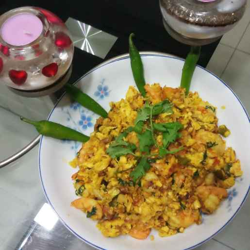 Photo of Egg with Prawn by Ranjita MUkhopadhyay at BetterButter