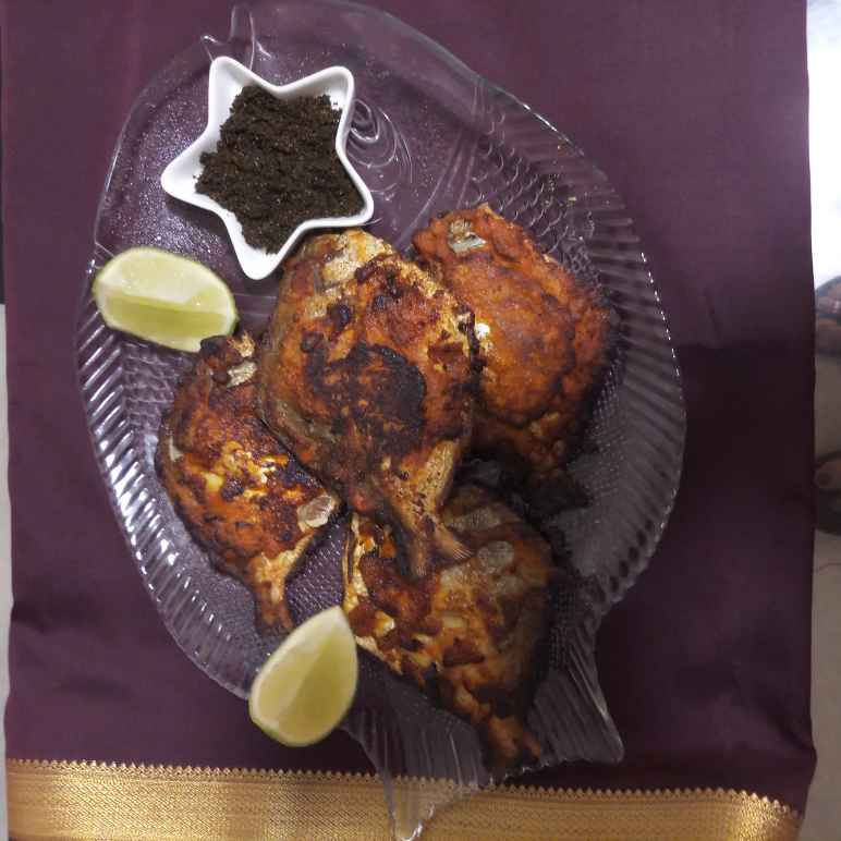 Photo of Curry leaves flavoured Pomfret by Ranjita MUkhopadhyay at BetterButter