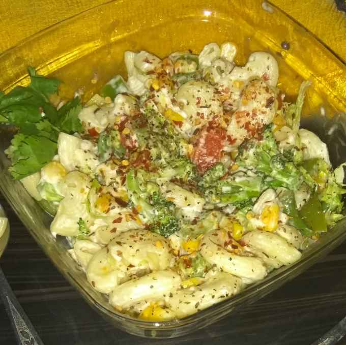 Photo of Hot macroni salad by rashi jain at BetterButter