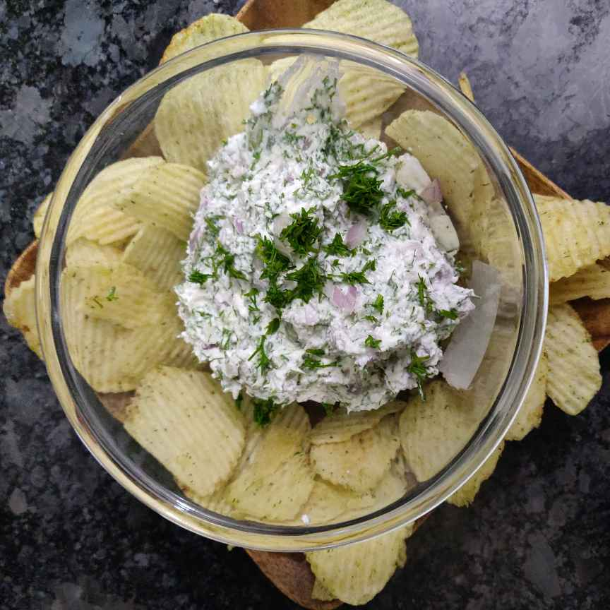 How to make Yogurt dill dip
