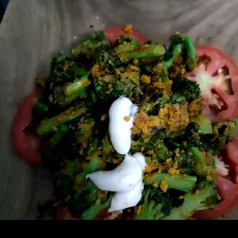 Photo of Grilled broccoli salad by rashi jain at BetterButter