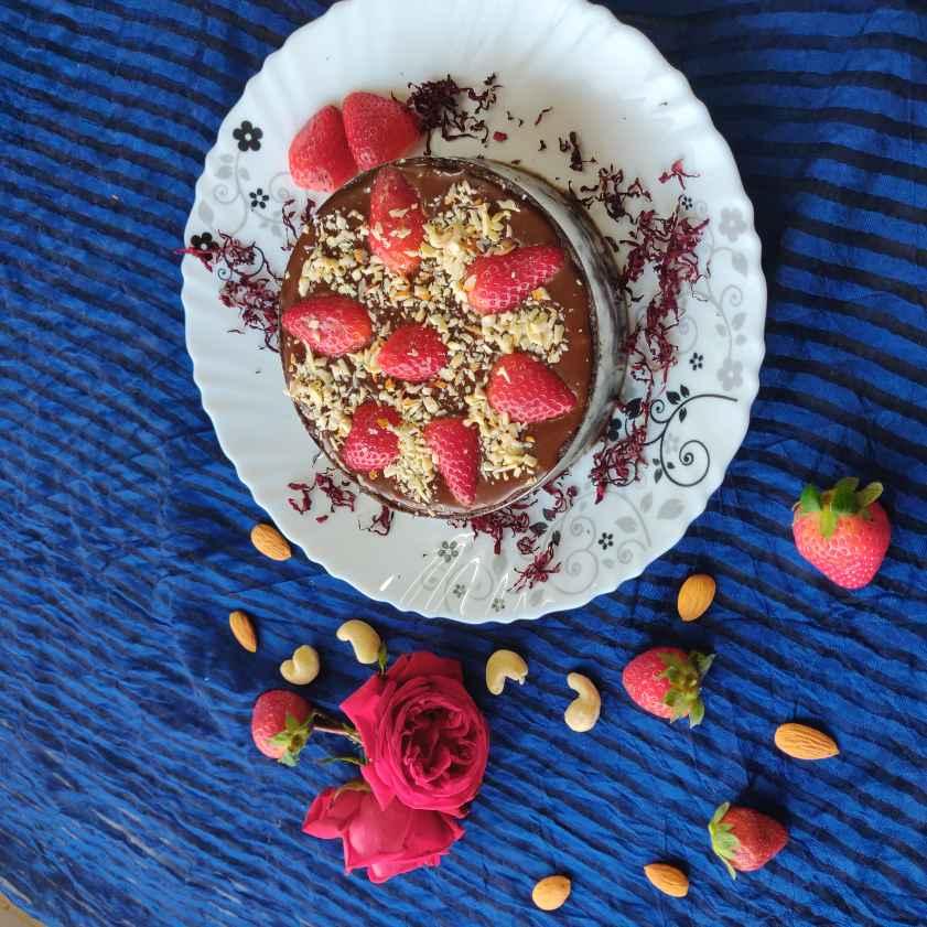How to make Chocolate  strawberry tart