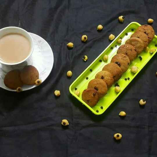 Photo of Chickpea Peanut Butter Cookies by Rashitha Mufeed at BetterButter