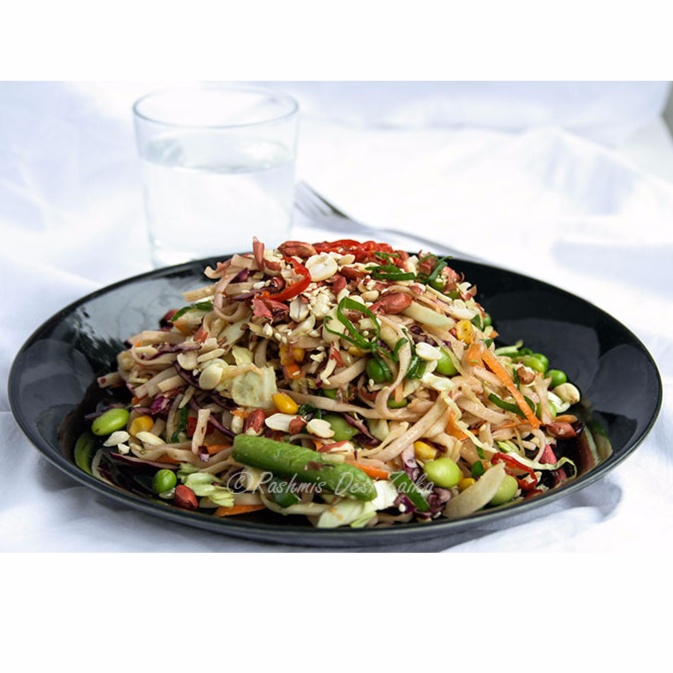 How to make Asian Noodles Salad