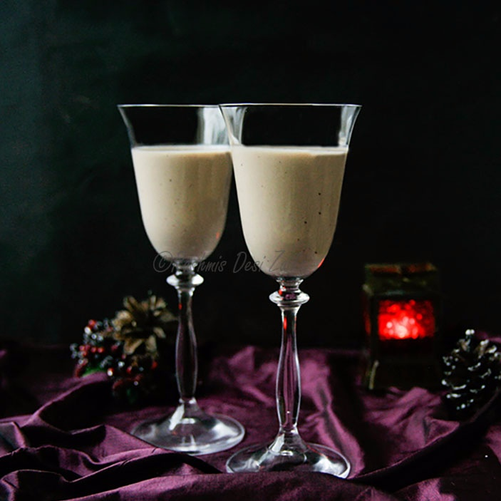 How to make Christmas Special-Spiced Chocolate Kahlúa Eggnog
