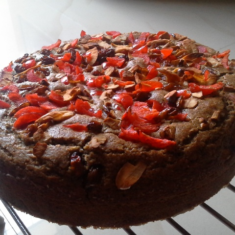 How to make Guilt Free - Eggless christmas fruit cake