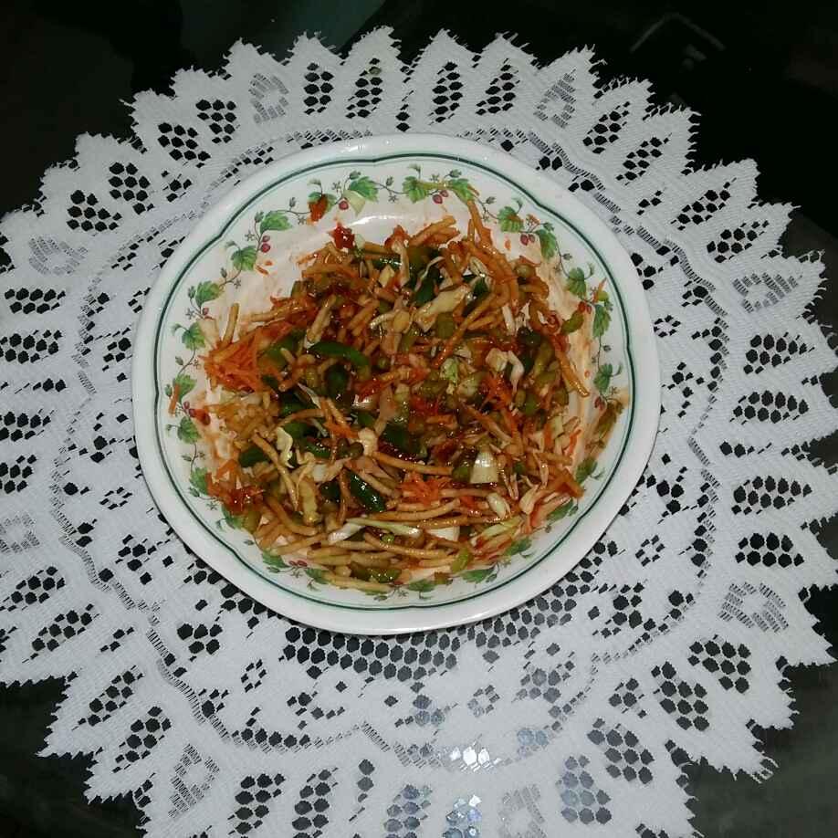 How to make Crispy Chinese bhel