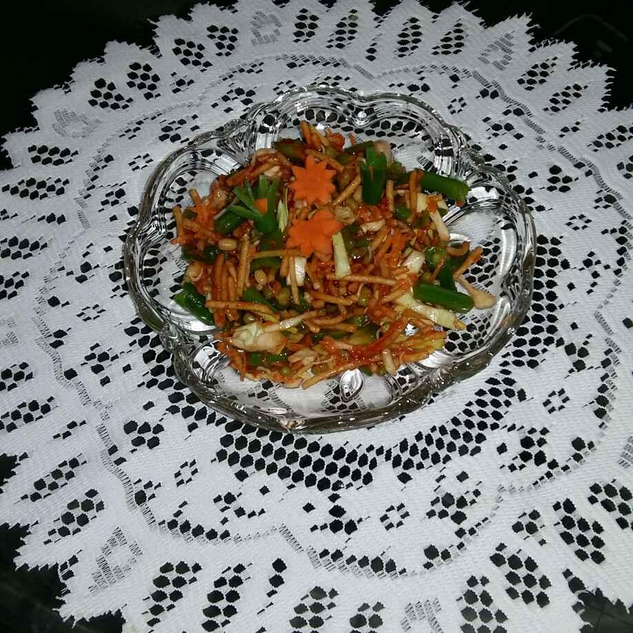 Photo of Crispy Chinese bhel by Rash amol at BetterButter