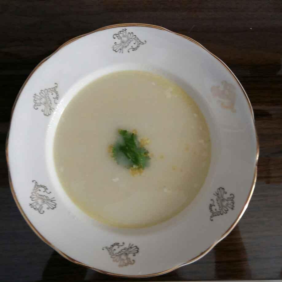 How to make क्रीम ऑफ चिकन सूप