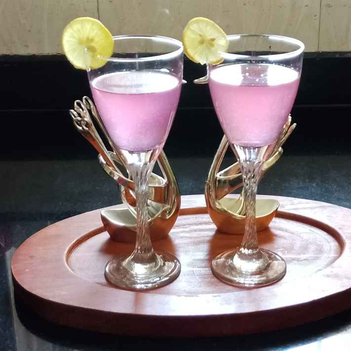 How to make Pink lemonede