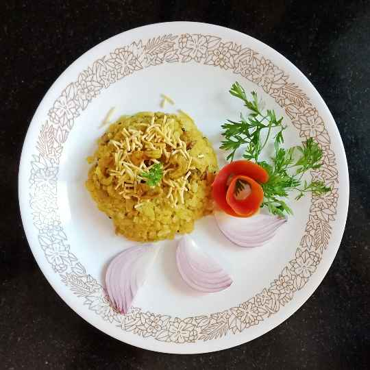 Photo of Dry prawns poha. by Rash amol at BetterButter
