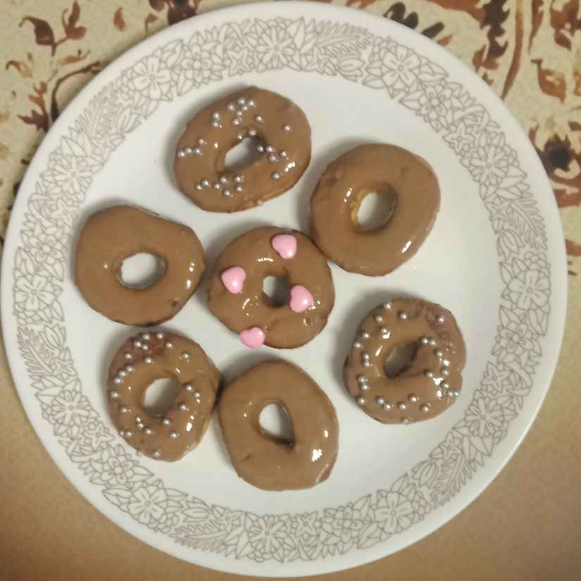 Photo of Chocolate doughnuts by Rash amol at BetterButter