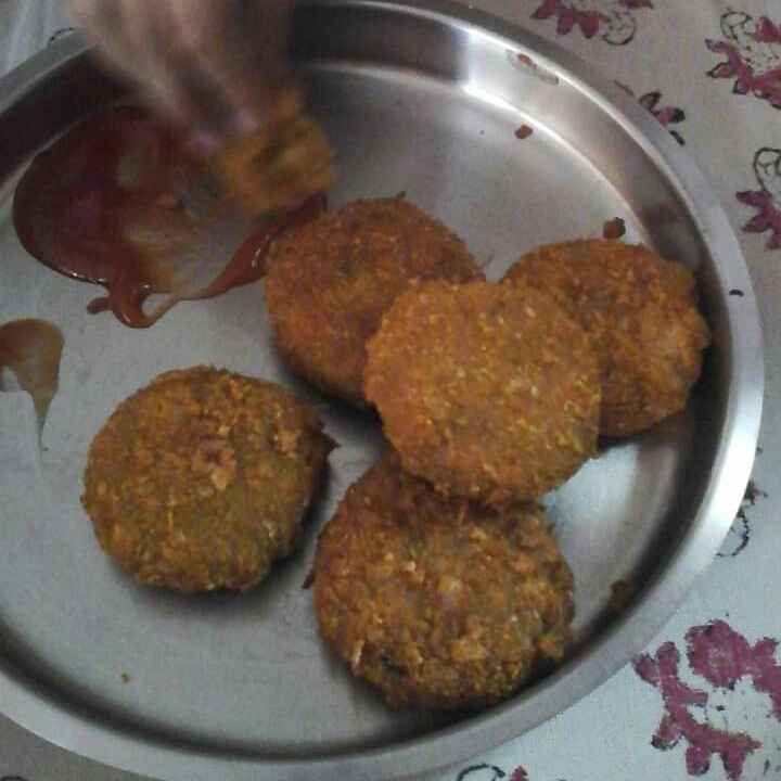 Photo of Crunchy tikkis/kebab by Rashmi Palkar Gupte at BetterButter