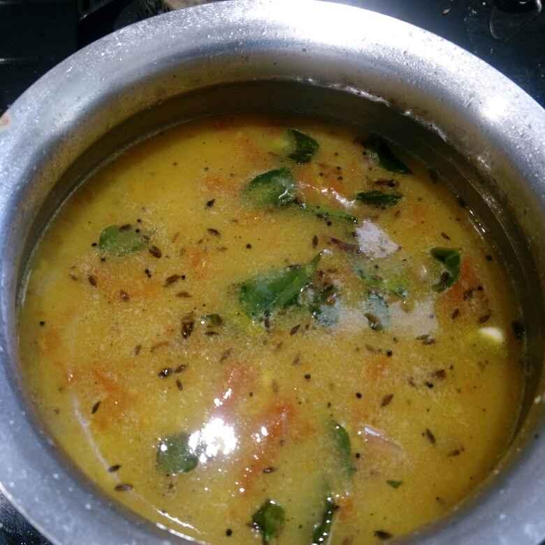 How to make Mung dal rasam