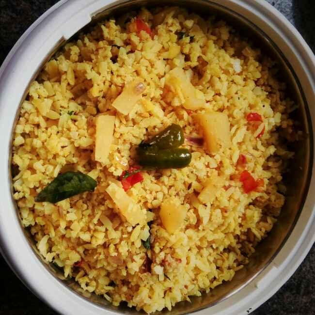 Photo of POTATO flattened rice by Rashmi SudhiMurthy at BetterButter