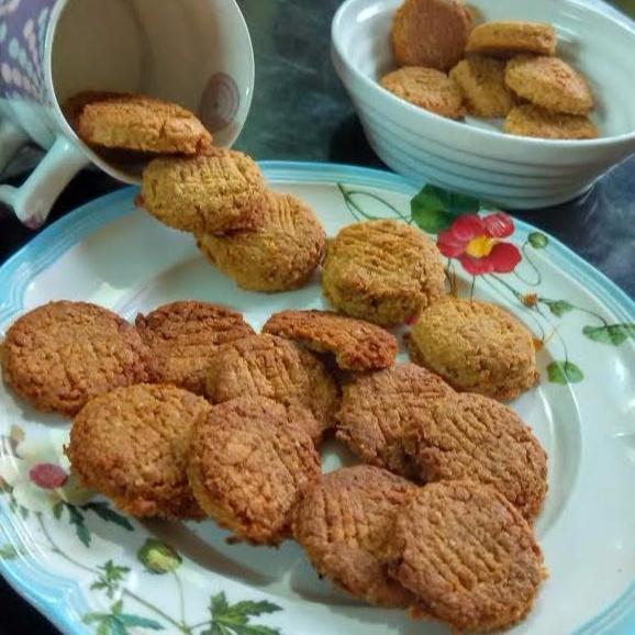 How to make Parle Style Coconut Cookies With Oatmeal