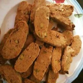 How to make Eggless Whole Wheat Pistachio Cookies