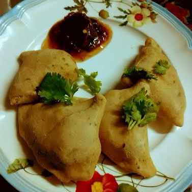 How to make Baked Samosa With Whole Wheat Flour