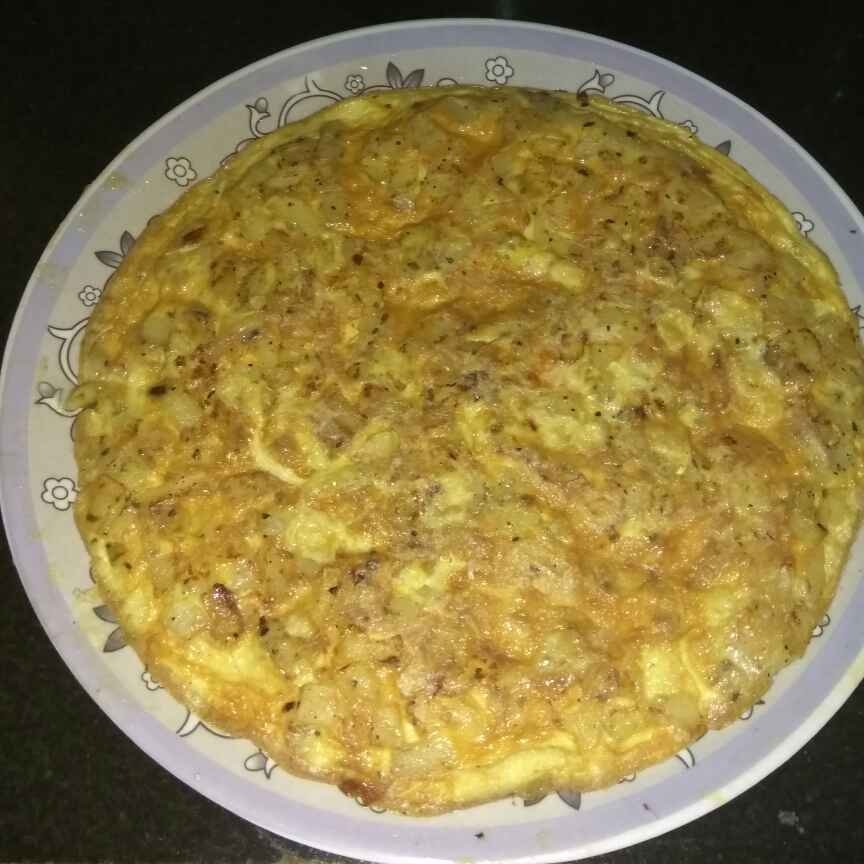 Photo of Spanish omelette by Reema Veigas at BetterButter