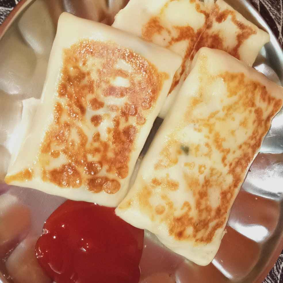 Photo of Cheesy Egg Crepes by Reema Veigas at BetterButter