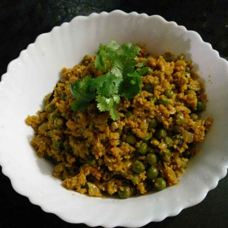 How to make Soya Matar Keema