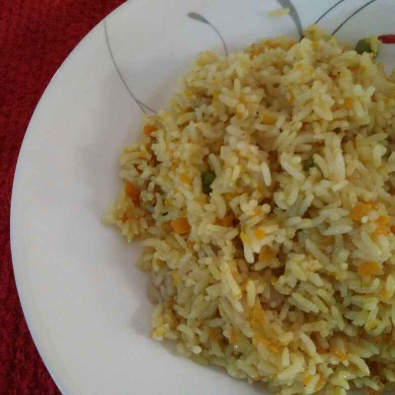 Photo of Carrot Rice by Reena Andavarapu at BetterButter