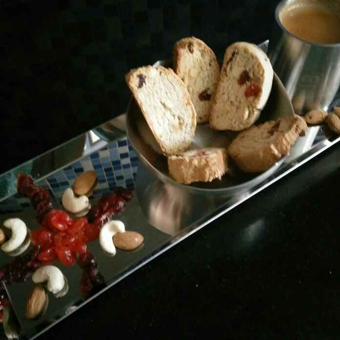 How to make Mixed Dry Fruits Biscotti