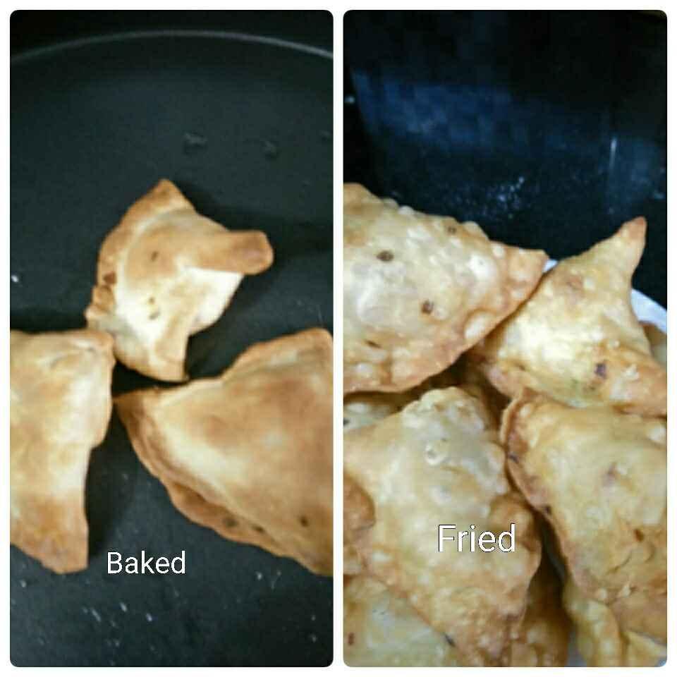 How to make Easy Baked samosas