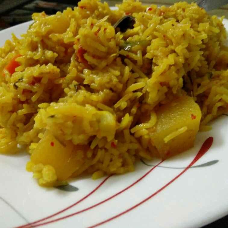 Photo of Mix Veg Tahiri by Reena Andavarapu at BetterButter