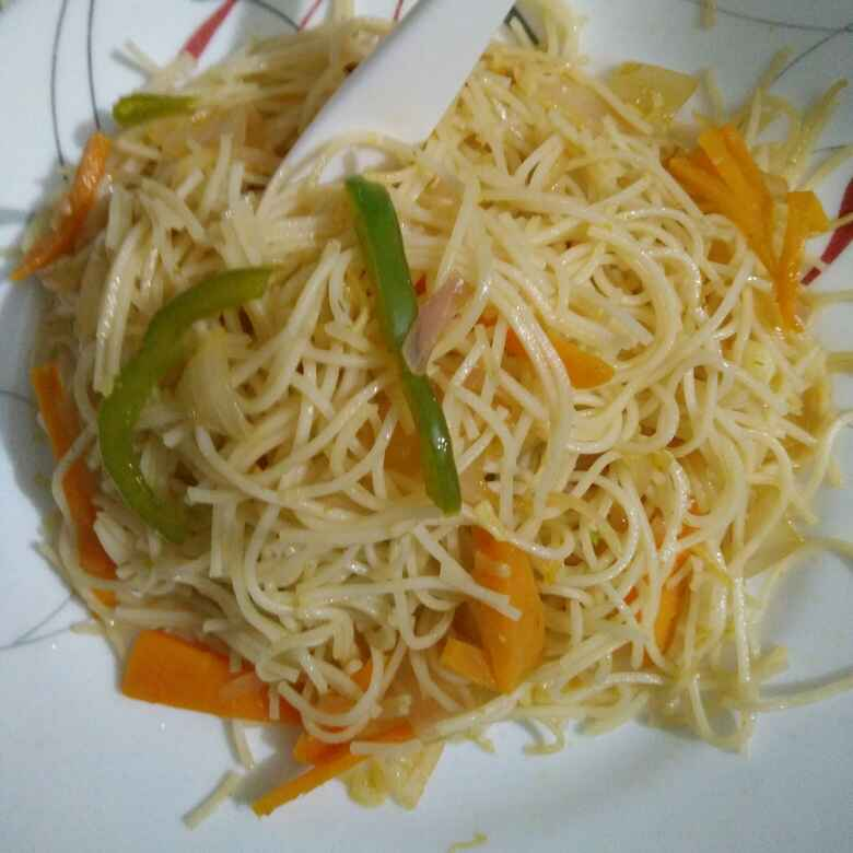 Photo of Hakka noodles for kids by Reena Andavarapu at BetterButter